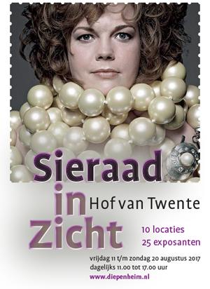 Samen met de leden van het Haarlems Sieraad Collectief zal mijn werk in augustus 2017 te zien zijn in Diepenheim
